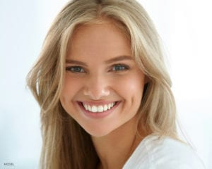 Smiling Young Blond Female